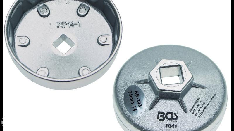 BGS 1041 ključ za uljne filtere 14-kantni 74mm