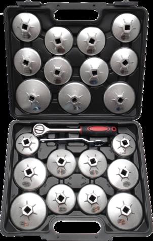 1035 Set za uljne filtere 23 dijela 1/2