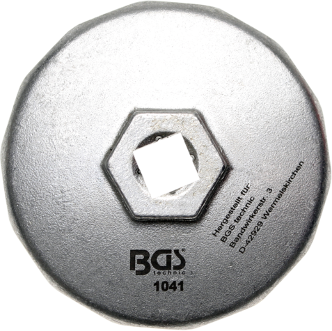 1041 Ključ za uljne filtere14-kantni fi 74mm